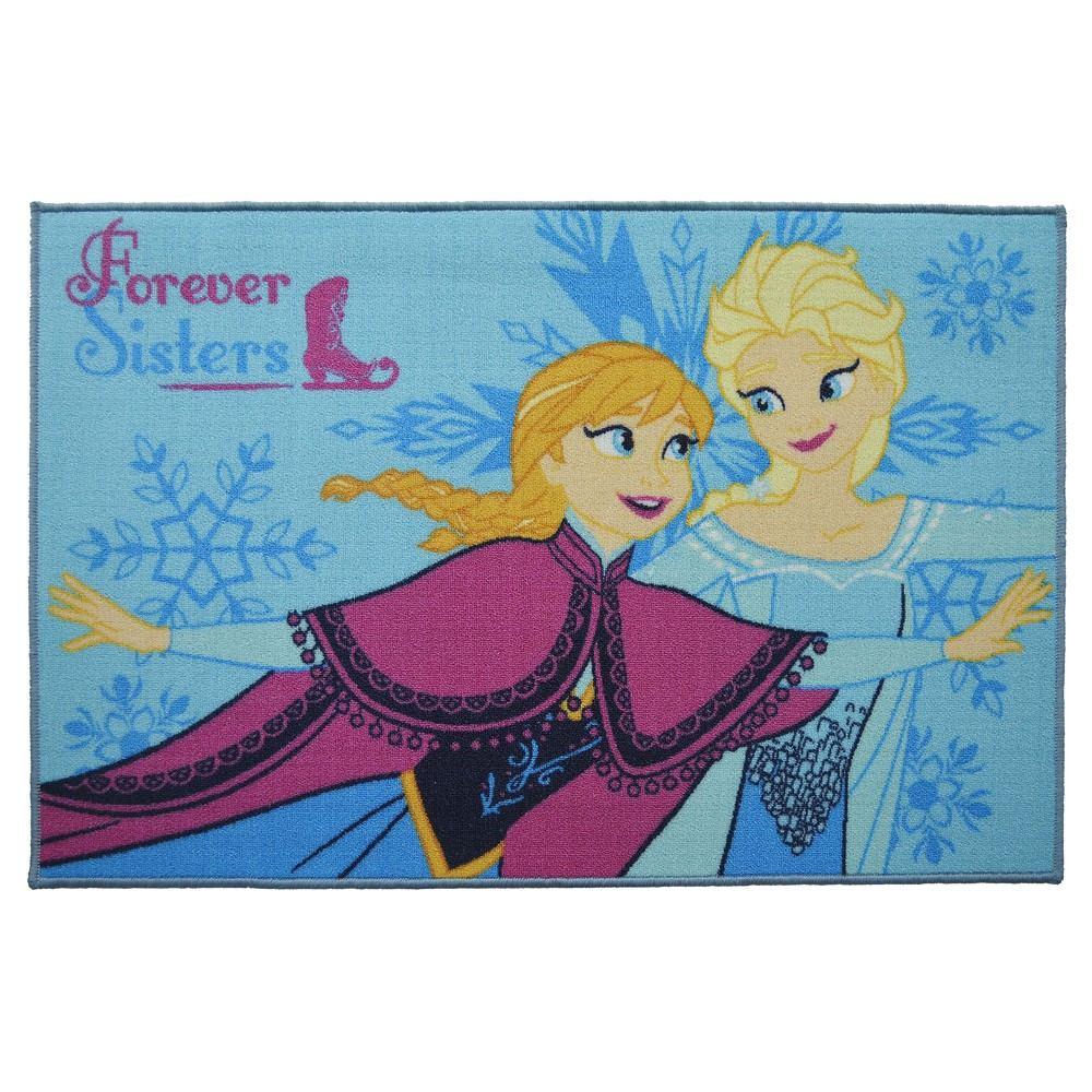 Alfombra disney frozen sisters 57x90 cm en mercado libre - Alfombras infantiles disney ...