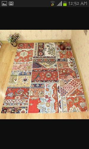 alfombra en tela de tapiceria