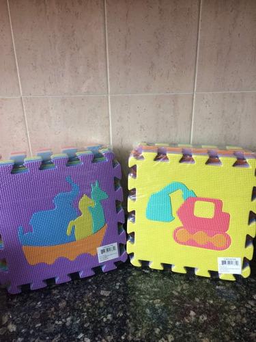 alfombra foami bebe goma 10 piezas grandes 25x25cm  oferta
