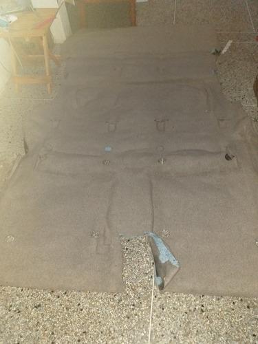 alfombra fortuner original toyota  nueva y moldeada