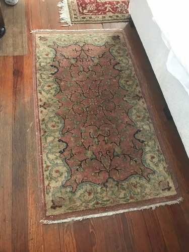 alfombra francesa antigua excelente estado