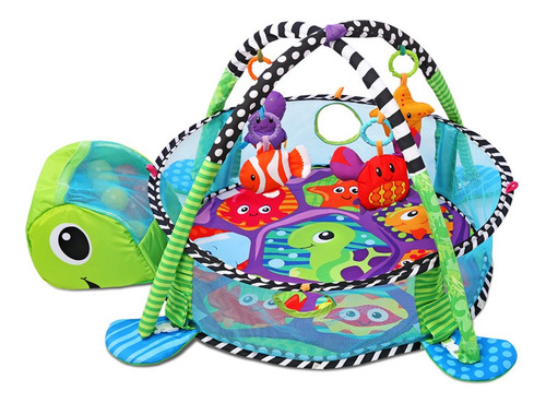 alfombra gimnasio felcraft fitch baby tortuga pelotero