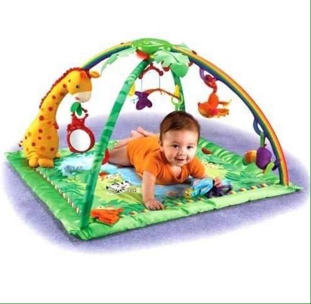 Alfombra gimnasio para bebe didactico para ni o ni a u s 31 50 en mercado libre - Alfombra nina ...