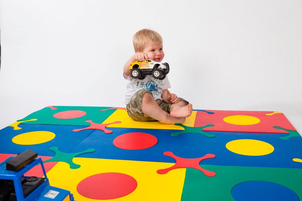alfombra goma eva ideal para bebes encastrable pisos