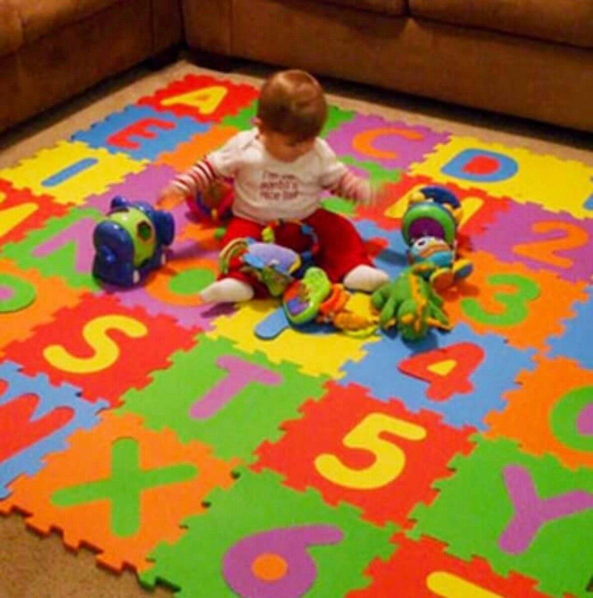 Alfombra Goma Eva Ideal Para Bebes Ninos Encastrable Pisos 349
