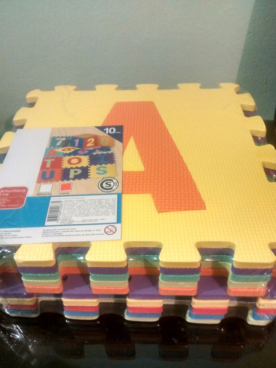 6454def29de alfombra goma eva números letras 10 piezas. Cargando zoom.