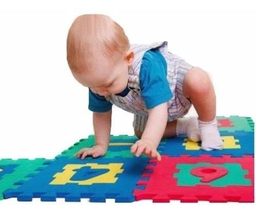 alfombra goma eva set 10 cuadros de 30x30 bebes y niños