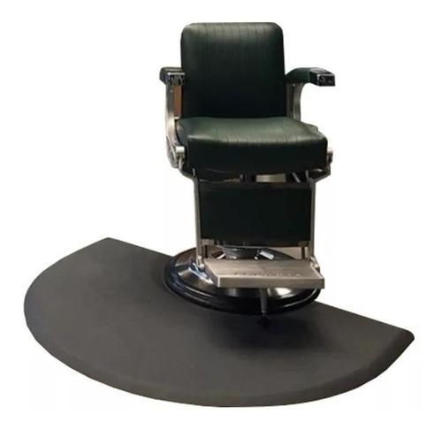 alfombra goma para sillon de barberia peluqueria enviogratis