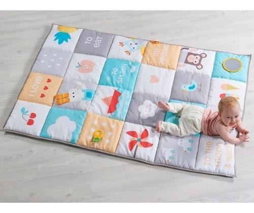 alfombra grande bebe manta didáctica gym taf toys