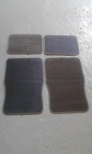 alfombra gris 4 piezas consulte precio