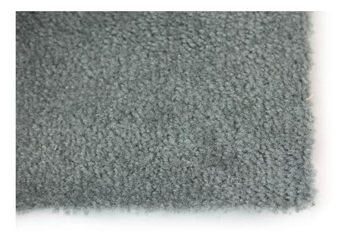 alfombra gris delgada de remate 2 x 5 mts