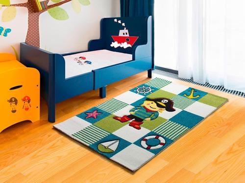 alfombra infantil importada carpeta kinder 120x170 diseño