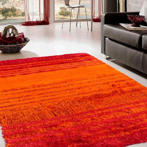 alfombra lexus naranja 133x190 cm