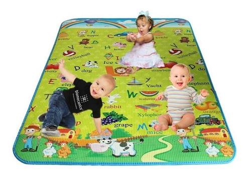 alfombra manta antigolpes bebesfunny smille 180x120cm cuotas