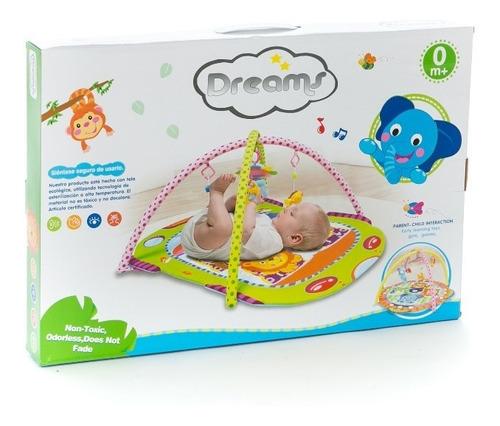 alfombra manta didactica estimulante gimnasio bebes dreams
