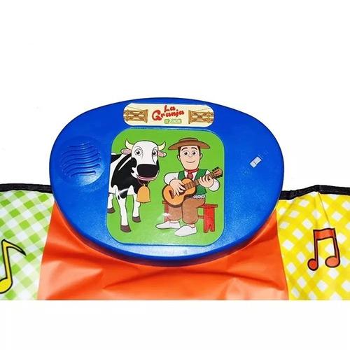 alfombra manta musical canciones de la granja de zenon zippy
