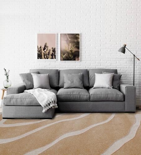 alfombra moderna 63005 hecha en turquía 160x230 cm kreatex