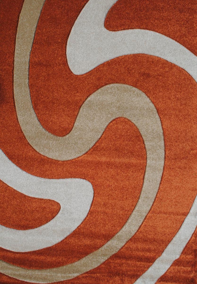 alfombra moderna curvas x cm kreatex