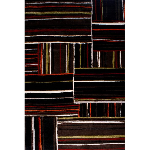 alfombra moderna pelo suave sevilla 4685/6s08/ 160x230