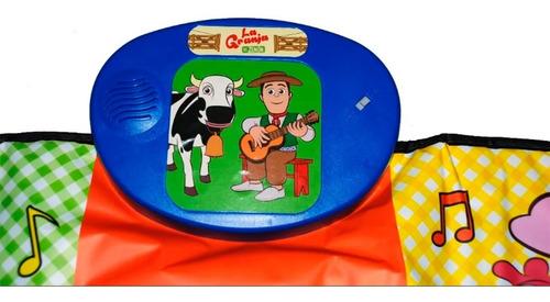 alfombra musical canciones de granja de zenon zippytoys