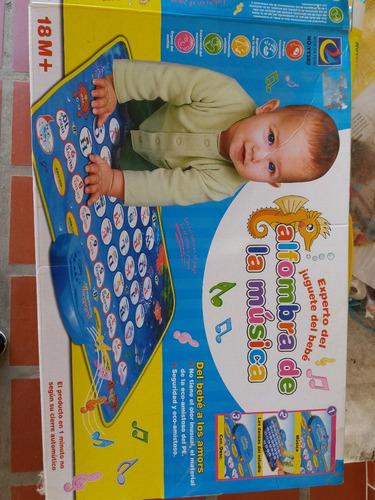 alfombra musical para bebes
