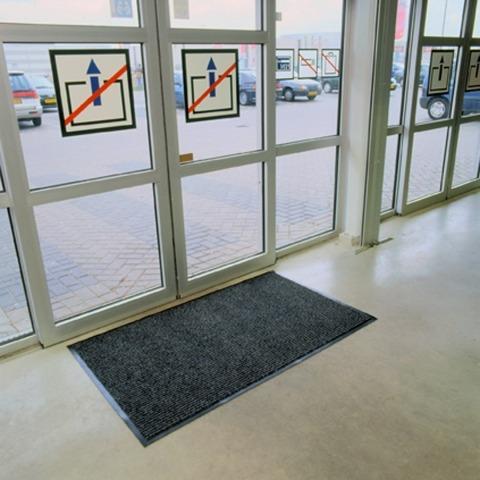 alfombra notrax alto tráfico entrada casa oficinas 1 x0.60mt