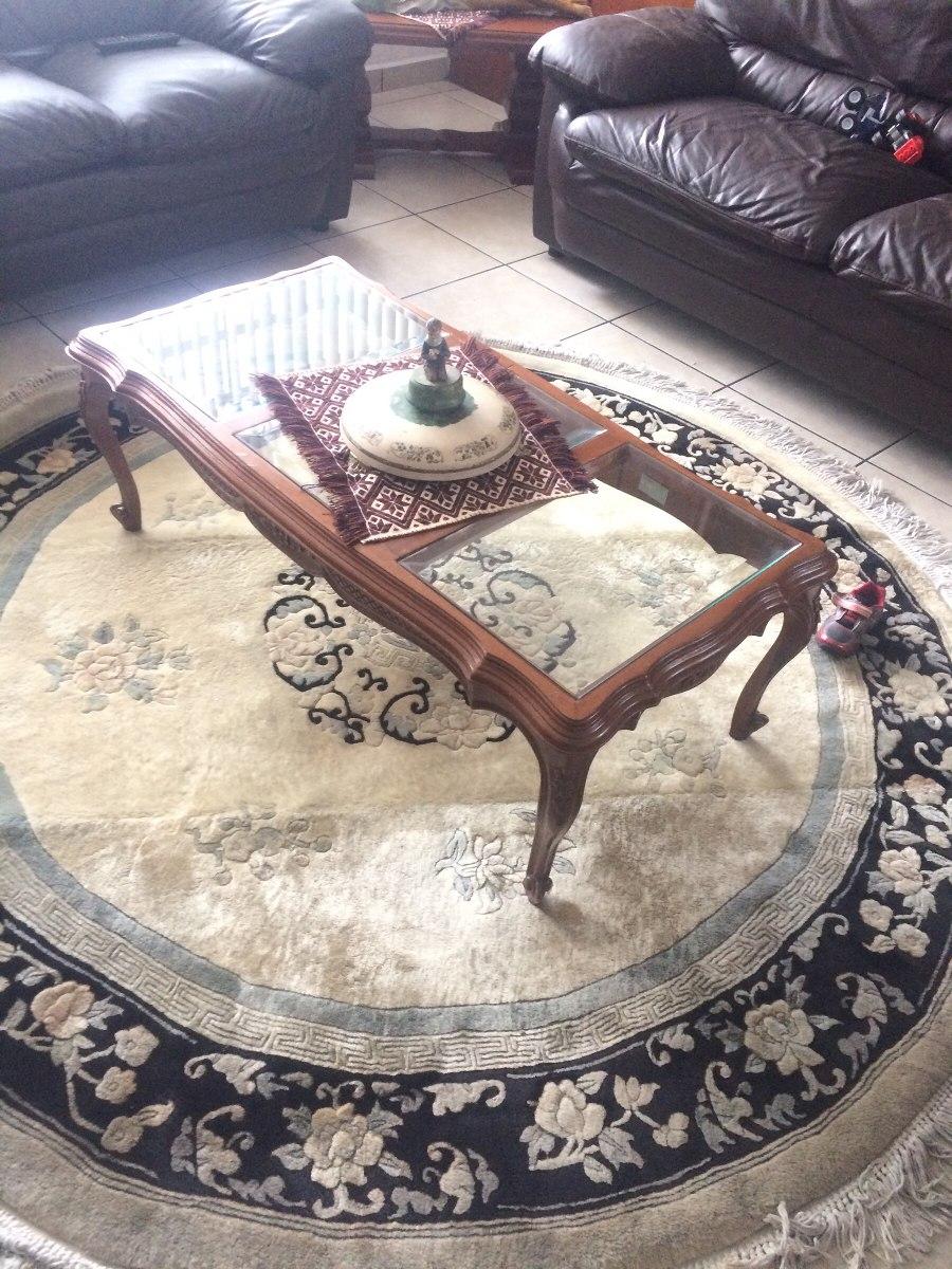 alfombra oriental redonda 210x210 cm 5 en mercado libre. Black Bedroom Furniture Sets. Home Design Ideas