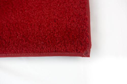 alfombra para bares rojo de pasillo 1 x 5 mts