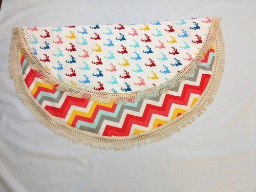 alfombra para bebe playmate- redonda 1 metro