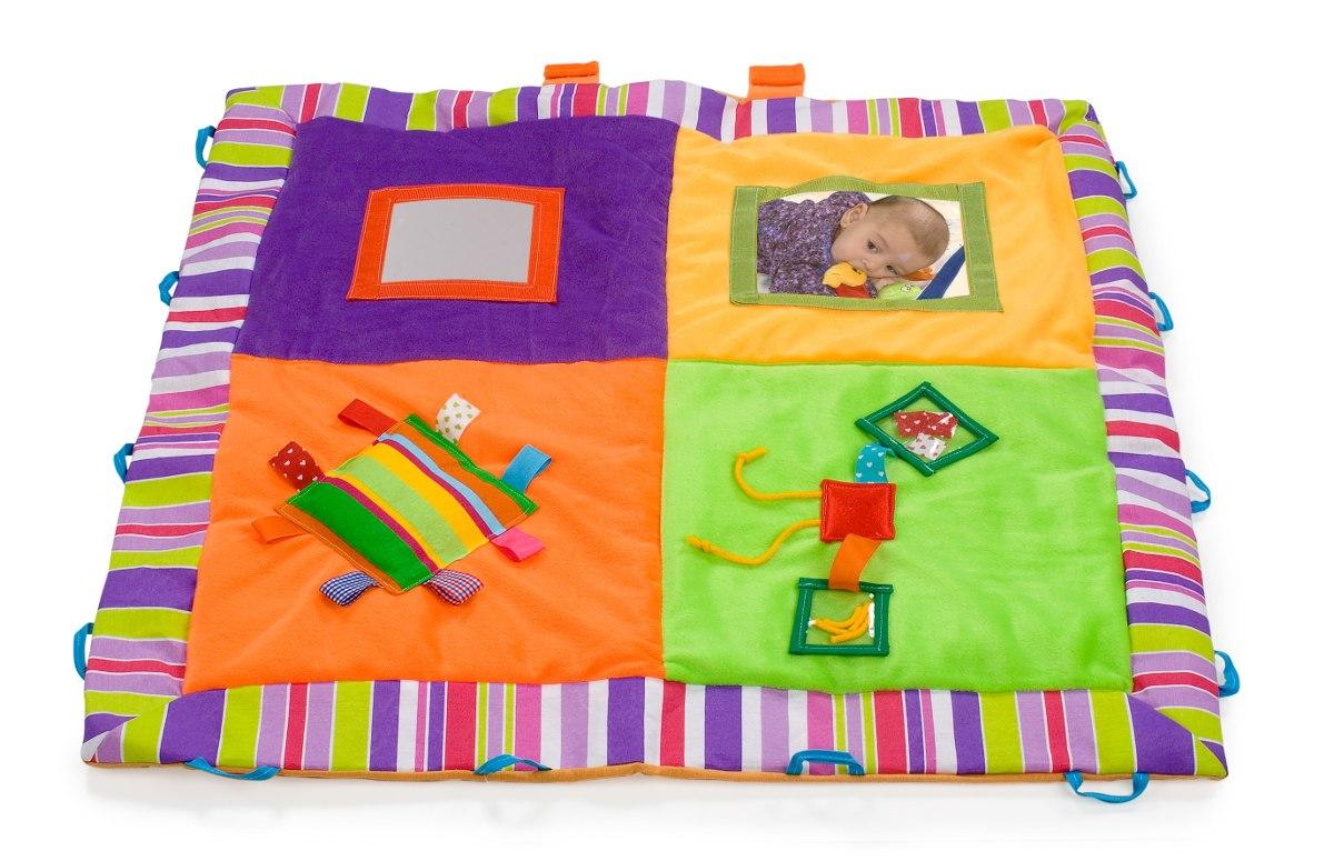 Alfombra Didactica Suave Para Bebes 726 00 En Mercado Libre