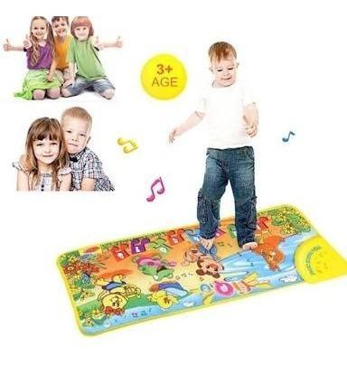 alfombra para niños musical didactica