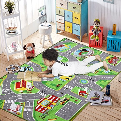 Alfombra Para Niños Para Sala De Juegos Sala De Niños Guar
