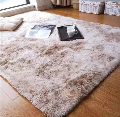alfombra peluda 1.8×2m varios colores para retira, sin envio