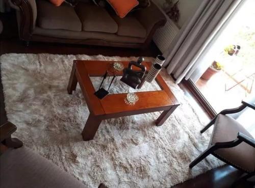 alfombra peludo beige mixto 2x3m solo retira