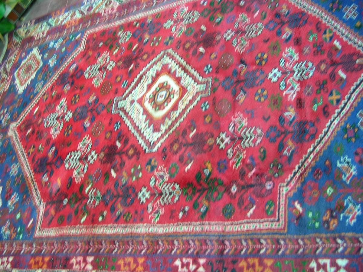 alfombra persa antigua su estado es impecable permutable