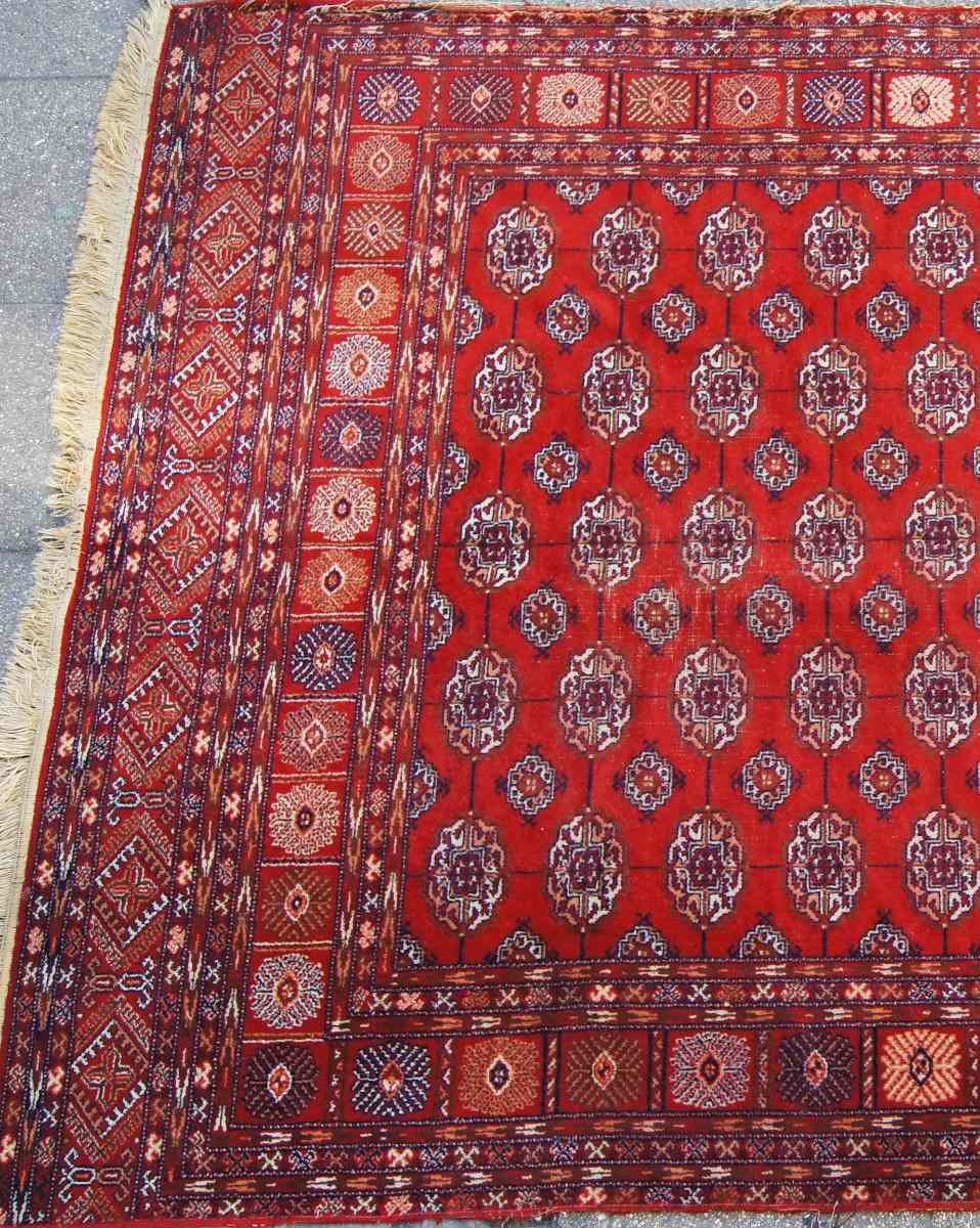Alfombra persa tekke 290 x 190 en mercado libre for Alfombras persas chile