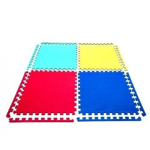 Alfombra piso goma eva set 4 piezas 63 x 63cm x1 4 grosor en mercado libre - Alfombra de goma para piso ...