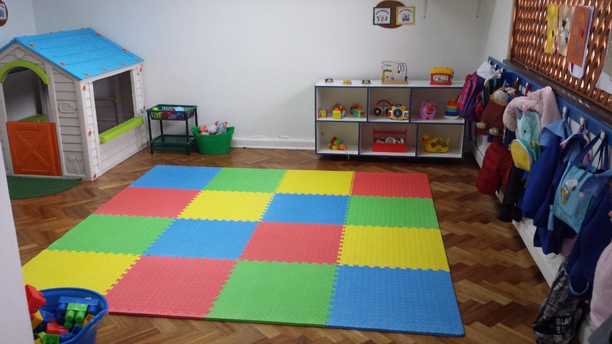 Alfombra piso goma eva set 4 piezas 63 x 63cm x14mm for Alfombras de juegos para ninos