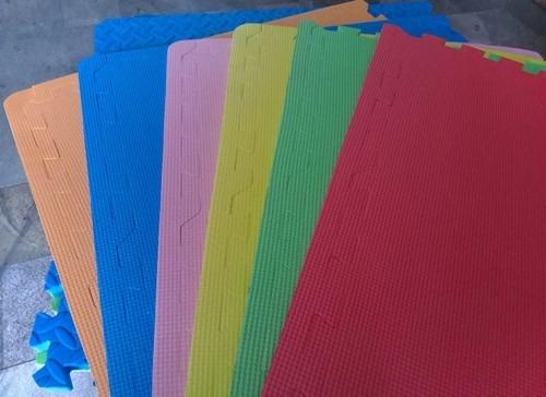 Alfombra piso goma eva set 6 piezas 63 x 63cm x1 1cm grosor en mercado libre - Alfombra de goma eva ...