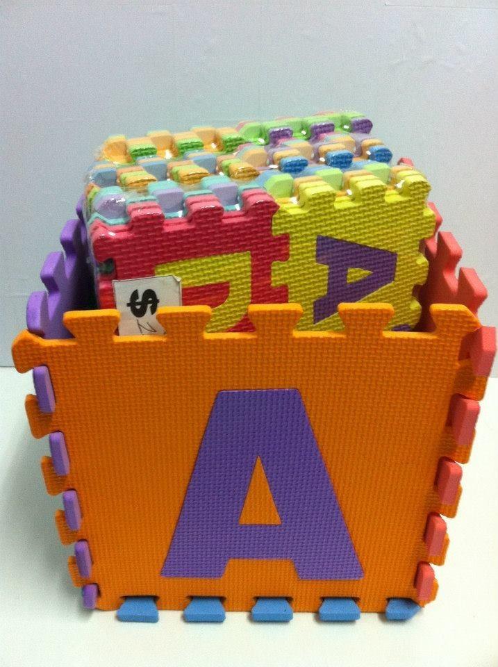 Alfombra puzzle de goma eva 150 00 en mercado libre - Alfombras puzzle infantiles ...