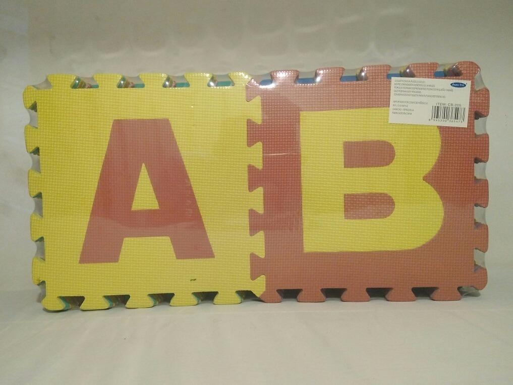 92bfef030c4 Alfombra Puzzle Eva - Abecedario (suelo) Para Bebes Y Niños - Bs ...