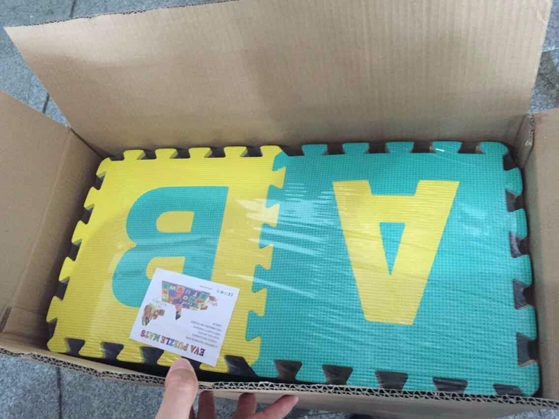 021dc6410dc alfombra puzzle goma eva 31x31 abecedario completo + numeros. Cargando zoom.