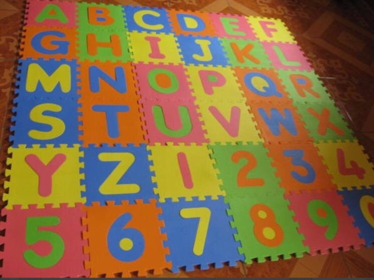 3b345f1f07a Alfombra Puzzle Goma Eva 36 Piezas 31 X 31 Cm Belgrano Caba -   600 ...