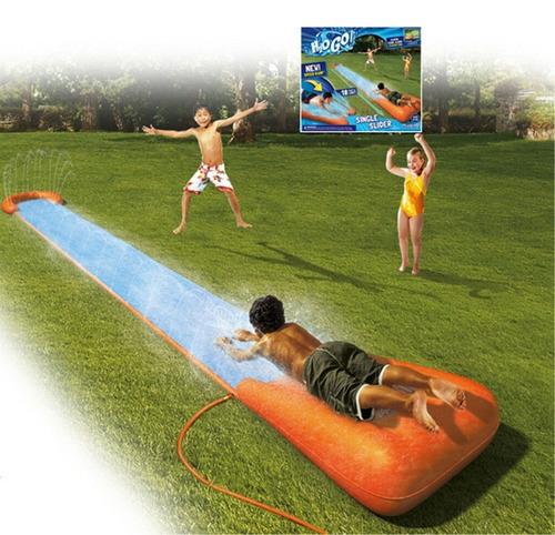 alfombra rampa  tobogan deslizante 1 pers gigante con agua