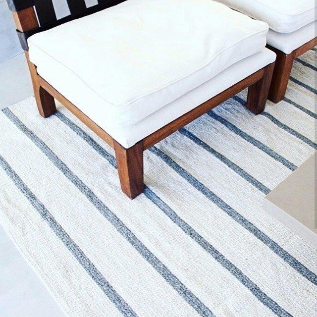 alfombra rayas - $ 2.590,00 en mercado libre