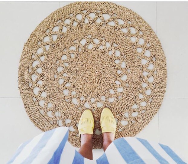 Alfombras redondas de colores alfombras redondas de - Alfombras de yute ...