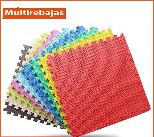 alfombra rompecabezas para niños decorativo antigolpes 2.60m