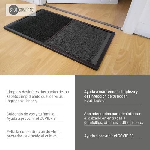 alfombra sanitizante bandeja desinfeccion calzado 70 x 40