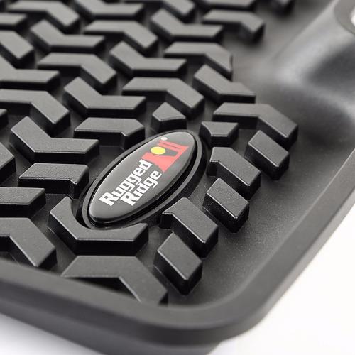 alfombra silverado 1500/c3500, 2.007+ 1ra fila, 2 pz, negro