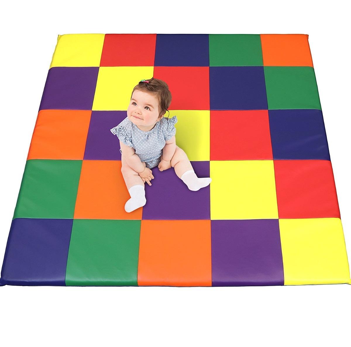 Alfombra Tapete De Juegos Kids Soft Foam Bebe Preescolar